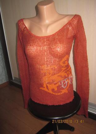 Классная стильная кофточка-свитерок life line размер m-l