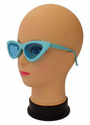 """Женские солнцезащитные очки """"лисички"""""""