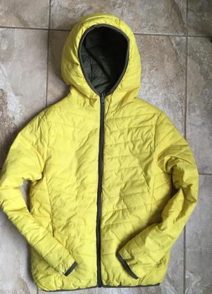 Zara двухсторонняя куртка 10-12 лет