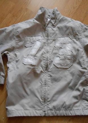 Куртка-ветровка на мальчика 6 лет