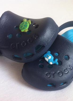 Сабо crocs electro размер с6 23 по стельке 13,5 - 14  см оригинал