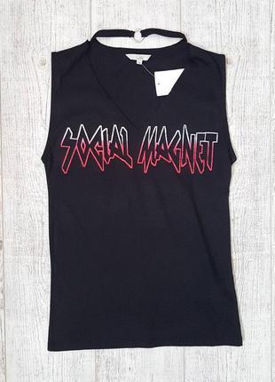 Женская трикотажная футболка c&a.  размер s