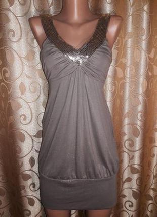 Красивое летнее трикотажное платье