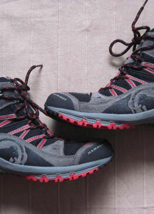 Mammut moskito gtx kids (38) треккинговые ботинки женские