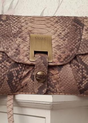 4bff479fe46c Кожа питона шикарная сумка клатч luxus italy Италия, цена - 595 грн ...