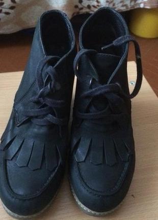 Осінні ботинки. натуральна шкіра