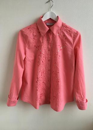 Льняная рубашка giorgio