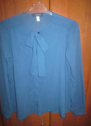Нарядная шифоновая блуза