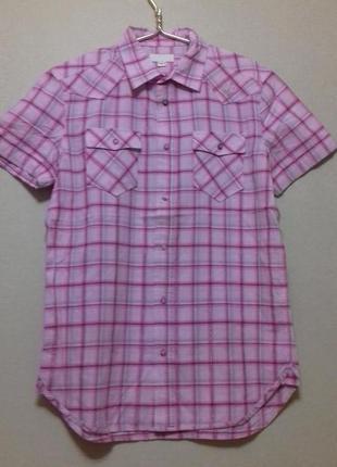 Рубашка с коротким рукавом р.м