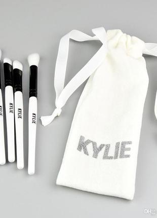 Кисти для макияжа kylie набор 5 шт. в мешочке