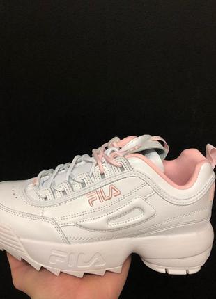 Акция! женские кроссовки fila disruptor 2 размеры: 36 -40