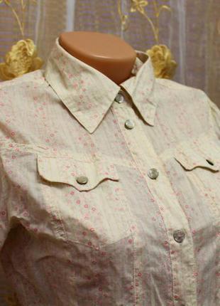 Рубашка из тоненького 100% коттона