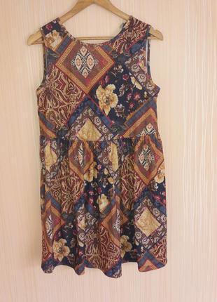 Шикарное платье миди asos с красивой спинкой