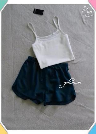 New!!! 2in1изумрудные шорты + маечка от esmara пижама, домашняя одежда