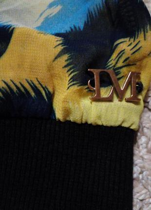 Lofty manner нидерланды, яркий, легкий свитшот/блузка с абстрактным принтом3