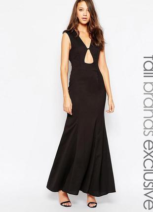 Шикарное вечернее нарядное платье asos