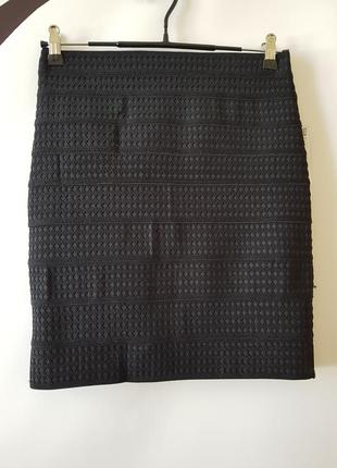 Бандажная юбка мини от zara.