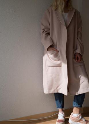Оверсайз пальто h&m