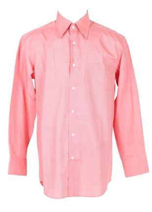 Красная рубашка с длинным рукавом gq