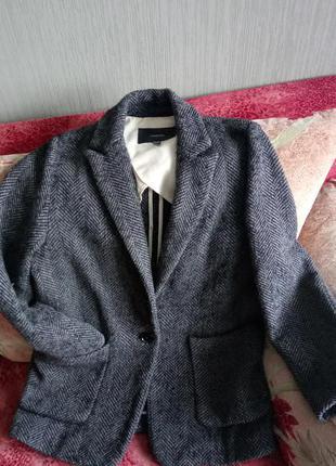 Очень крутое оверсайз пальто, тёплое шерсть