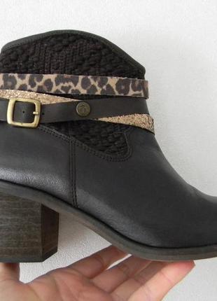 Кожаные ботинки cerises в стиле кэжуал 37-38р.