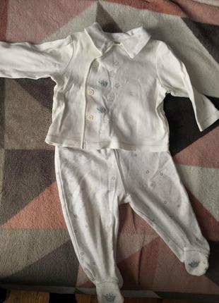 Пижамка, костюм 61-68см