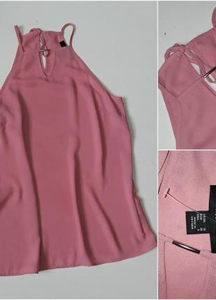 Креповая блузка майкой