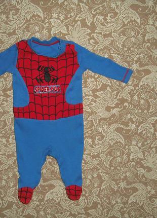 Костюм человечек спальник spider man1 фото