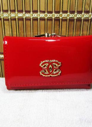 Маленький красный кошелек balisa lux