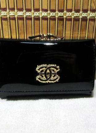 Черный маленький кошелек balisa lux