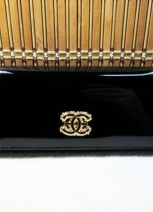 Черный кошелек balisa лакированный