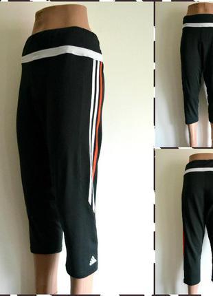 Adidas climalite женские спортивные бриджи   размер l-xl
