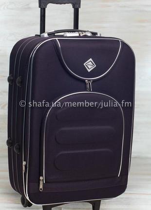 🔥супер цена 🔥 текстильный средний чемодан на колесах тканевый без предоплат валіза середня