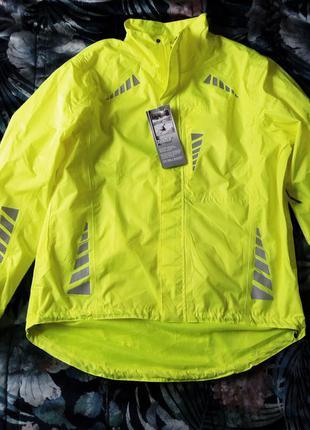 Классная вело куртка дождевик ветровка
