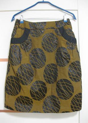 Шикарная юбка р.40 bgn франция