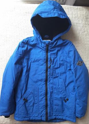 Демисезонная куртка george деми курточка парка на 7-8 лет