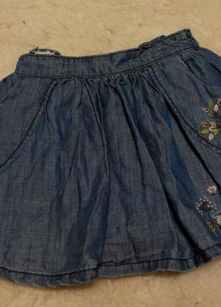 Юбочка под джинс matalan на девочку 2-3 годика