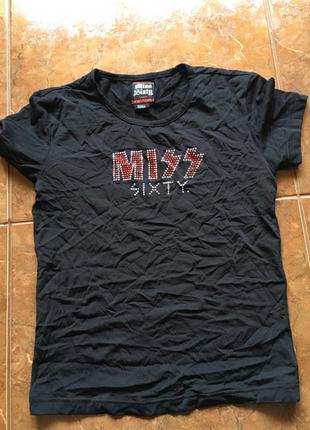 Чорний топ miss sixty