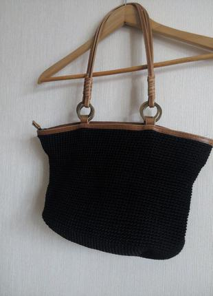 Плетеная сумка david jones