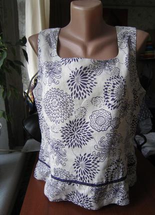 Льняная блуза alexon