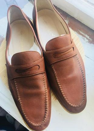 Мужские туфли, мокасины, лоферы из кожи