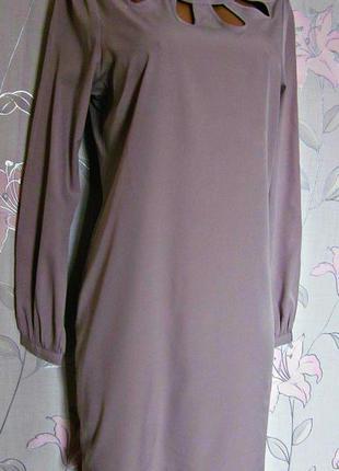 Нежное фиалковое платье saint tropez