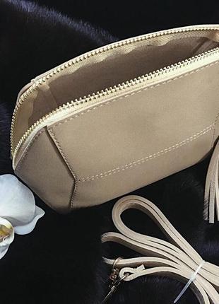 Маленькая замшевая сумочка