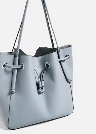 Сумка-мешок, сумка-шоппер zara