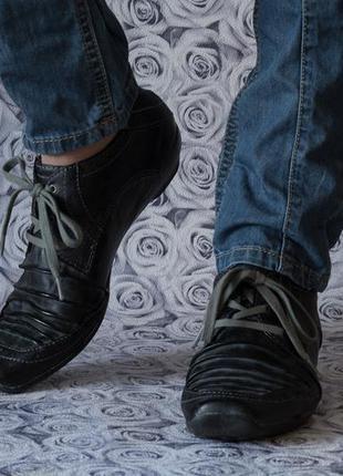 Туфли casual европейского бренда mustang