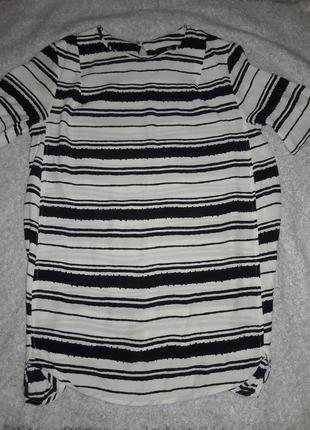 Удлинённая блуза от h&m размер 8.