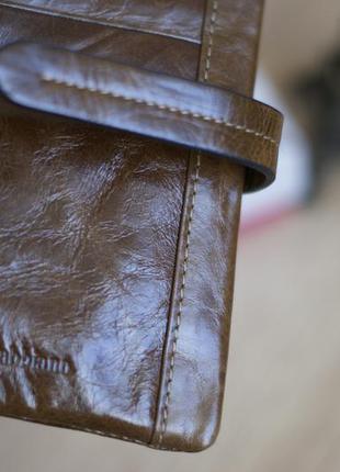 Кошелек  женский velina fabbiano, натуральная ( восковая телячья ) кожа,качество