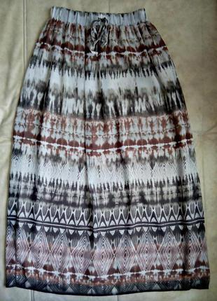 Летняя длинная женская юбка мonsoon размер м