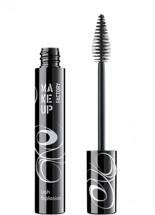 Тушь make up factory mascara lash explosion