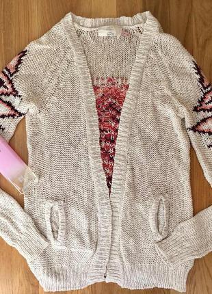 Кардиган bershka кофта свитер реглан свитшот парка туника джемпер накидка